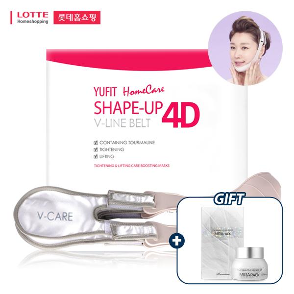 [롯데홈쇼핑 15차 완판] 더유핏 4D 브이라인 벨트 (페이스리프팅밴드,리프팅벨트)